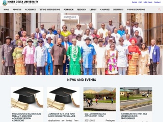 Screenshot for ndu.edu.ng