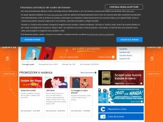 screenshot negozimondadori.it