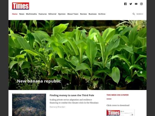 Latest news and analysis from Nepal on politics, economics and society| Nepali Times | nepalitimes.com