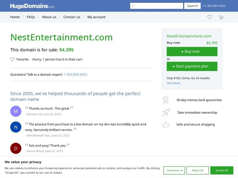 Nest Entertainment screenshot