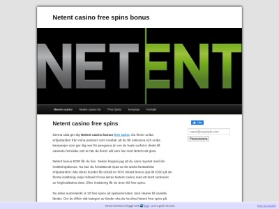 www.netentcasinofreespins.n.nu