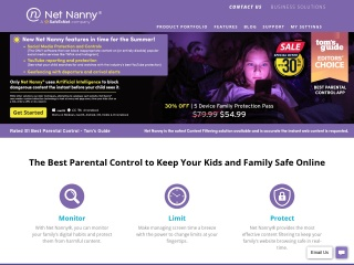 Screenshot for netnanny.com