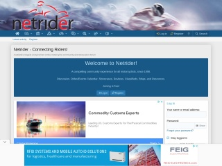 Screenshot for netrider.net.au