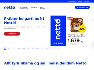Screenshot for netto.is
