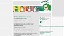 www.netty.at Vorschau, Netty's Internet Fitness-Corner