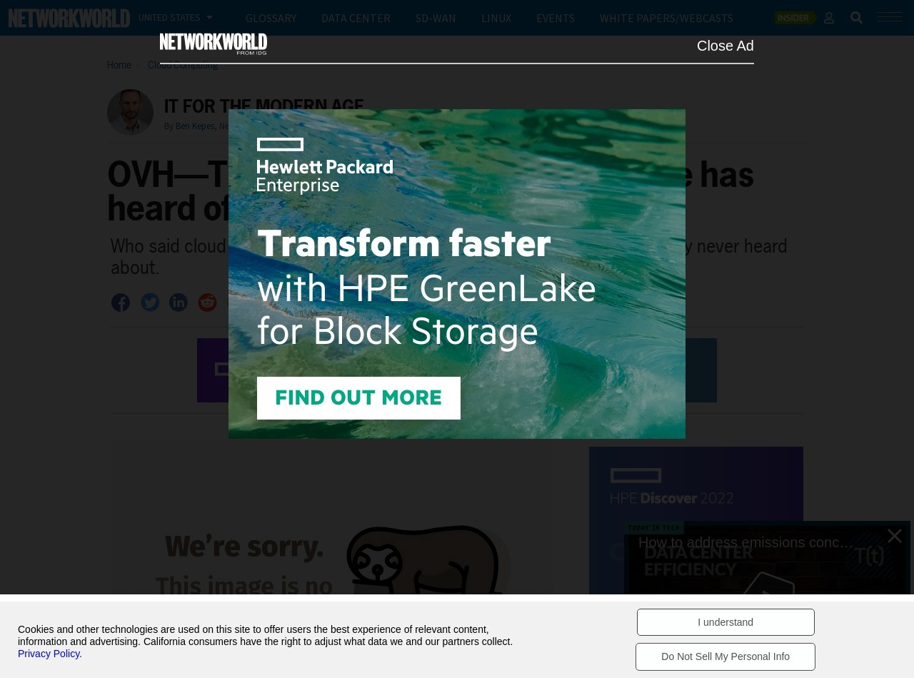 OVH—The biggest cloud vendor no one has heard of