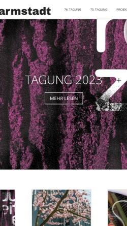 Vorschau der mobilen Webseite www.neue-musik.org, Institut für Neue Musik und Musikerziehung, Darmstadt e.V.