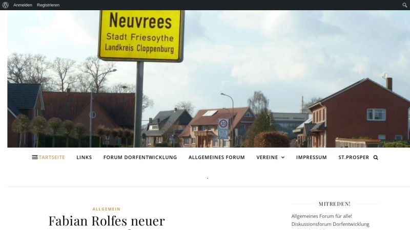 www.neuvrees.de Vorschau, Neuvrees