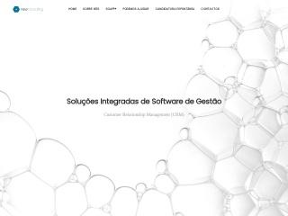 Screenshot do site new-consulting.pt