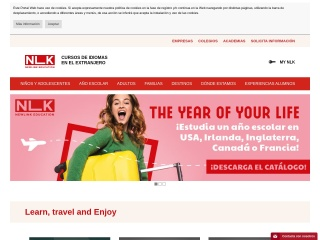 Captura de pantalla para newlink.es