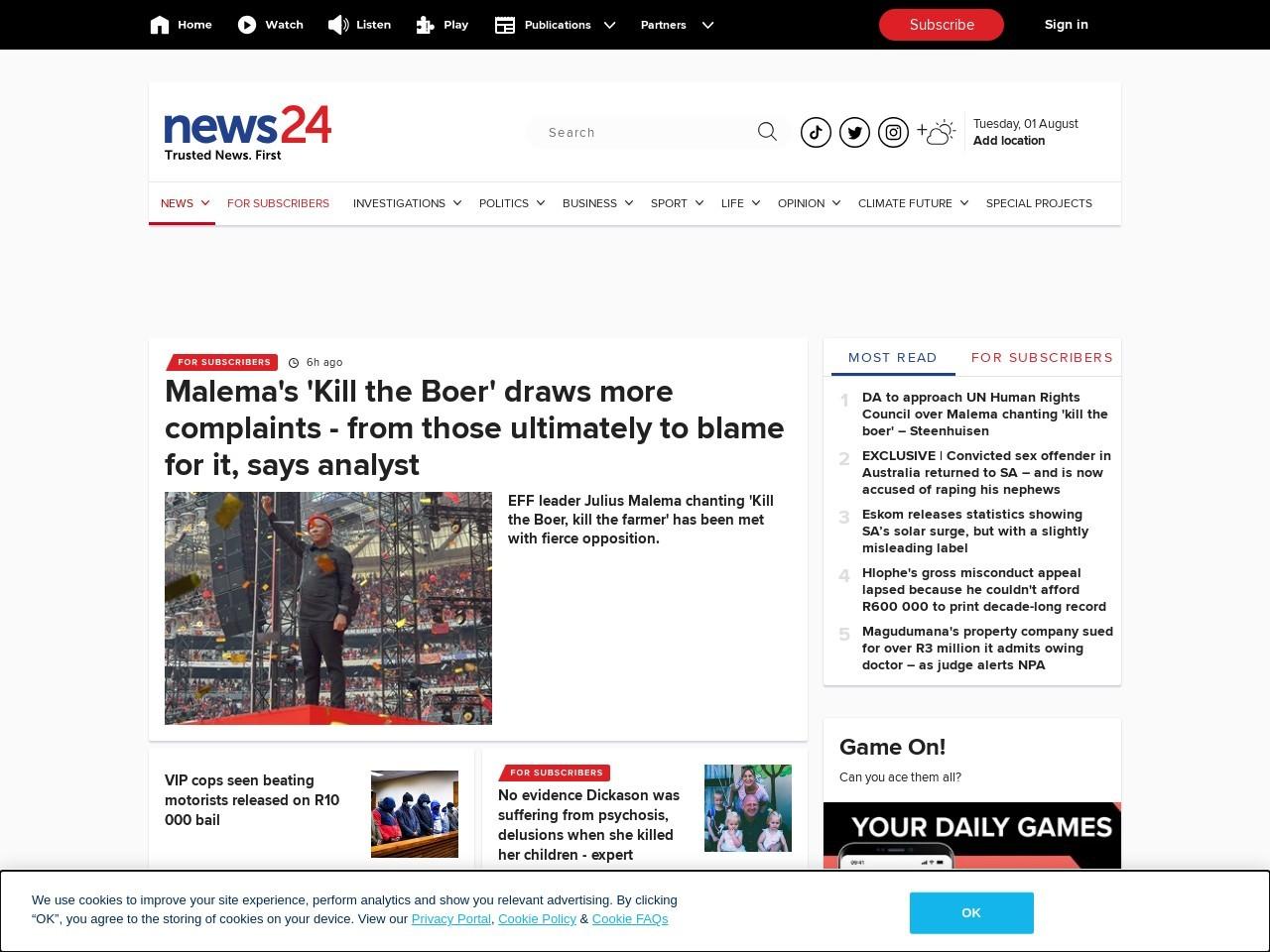 Matric pass rate less than 45%, says AfriForum