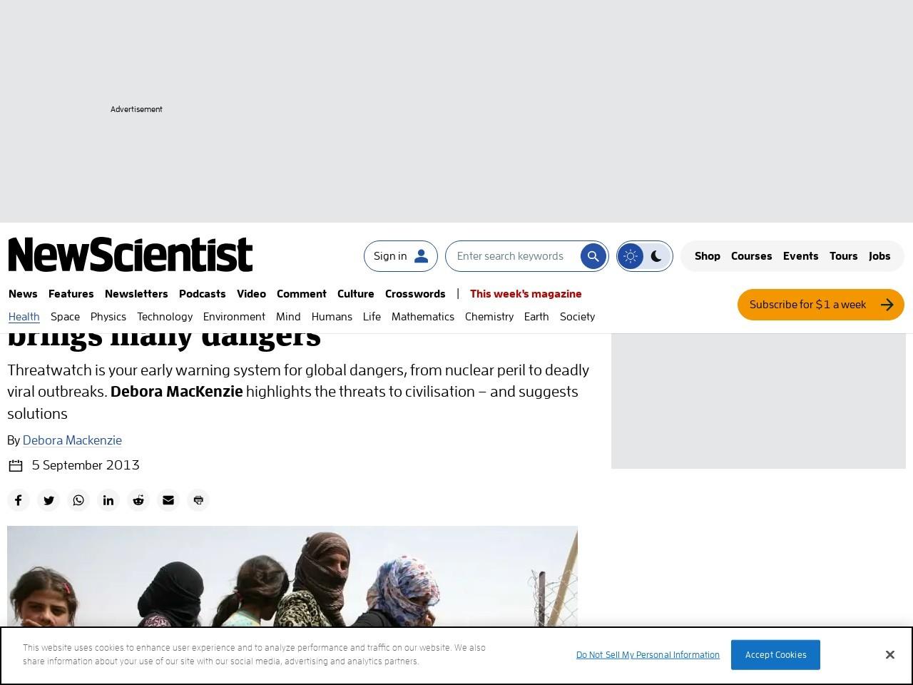 Syrian refugee flood brings many dangers