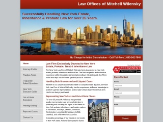 Screenshot for newyorkestateattorney.com