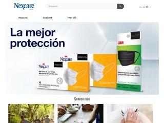 Captura de pantalla para nexcare.com.uy