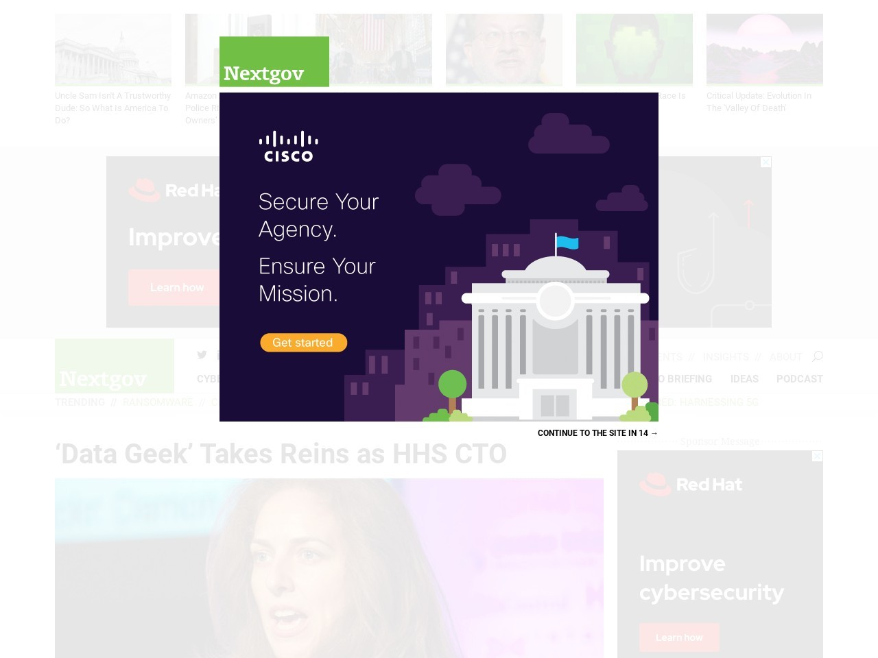 'Data Geek' Takes Reins as HHS CTO