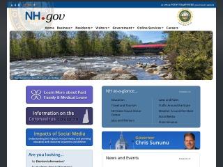 Screenshot for nh.gov