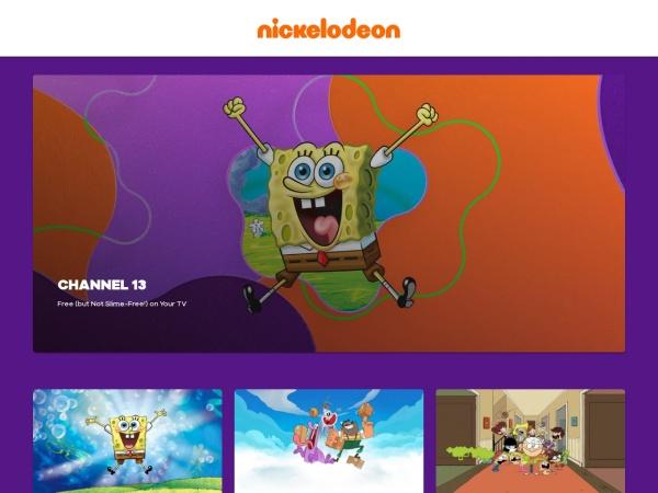 Nickelodeon - Best Cartoons Streaming Sites to Watch Cartoon Online