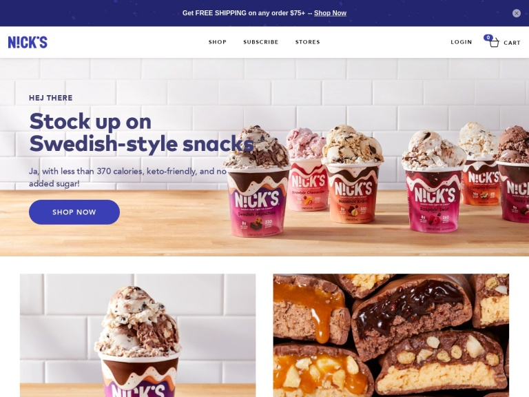 Nick's Ice Creams screenshot
