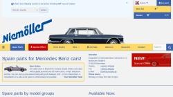www.niemoeller.de Vorschau, niemoeller.de - Ersatzteile für Mercedes Benz Oldtimer