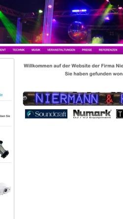 Vorschau der mobilen Webseite www.niermannundkelch.de, Niermann & Kelch