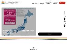 http://www.nijiirodiversity.jp/