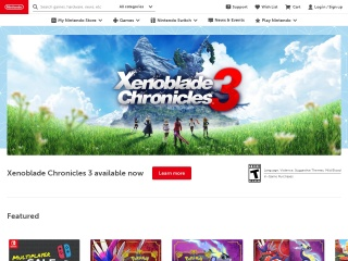 Screenshot for nintendo.com