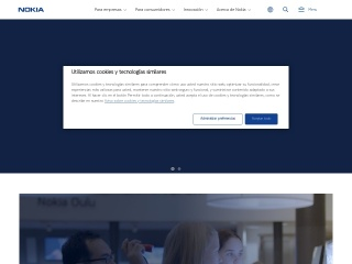Captura de pantalla para nokia-latinoamerica.com