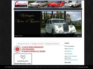screenshot noleggioautomatrimoni.com