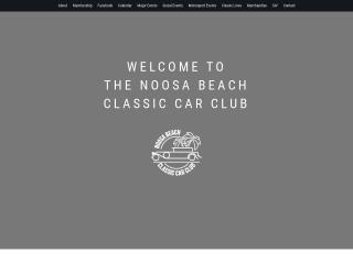 Screenshot for noosacarclub.com.au