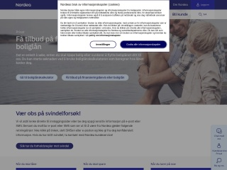 Screenshot for nordea.no