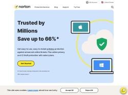 Norton Coupon Code screenshot