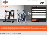 Commercial Gym Setup Cost in India