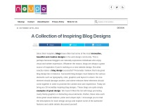 A Collection of Inspiring Blog Designs