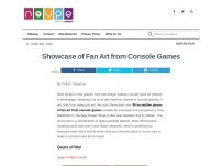 Showcase of Fan Art from Console Games