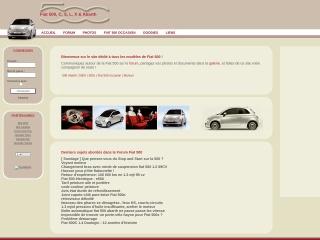 Capture d'écran pour nouvelle-fiat500.fr