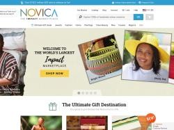 NOVICA screenshot