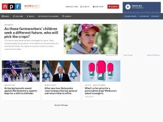 Screenshot for npr.org