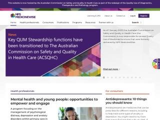 Screenshot for nps.org.au