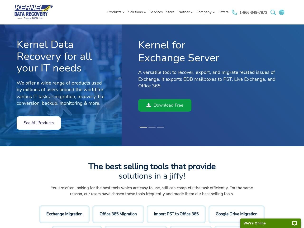 Kernel Microsoft Email Repair - Technician License Promo