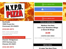 N.Y.P.D. Pizza Delivery