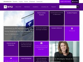 Screenshot for nyu.edu