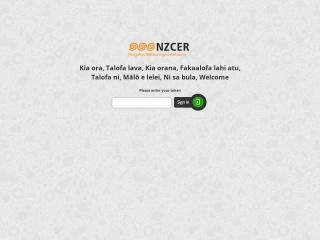 Screenshot for nzceronline.org.nz