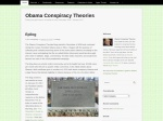 Obama Conspiracy Theories - Fishing for gold coins in a