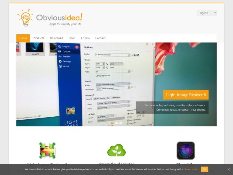 Obvious Idea screenshot