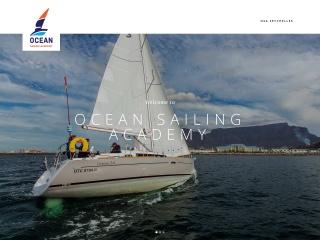 Screenshot for oceansailing.co.za