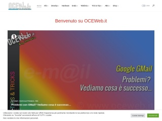 screenshot oceweb.it