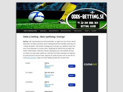 www.odds-betting.se