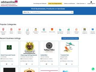 Screenshot for odishaonline.in