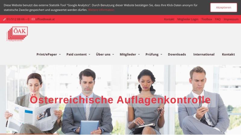 www.oeak.at Vorschau, ÖAK - Österreichische Auflagenkontrolle