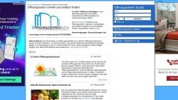 www.oeffnungszeitenbuch.de Vorschau, Öffnungszeitenbuch.de